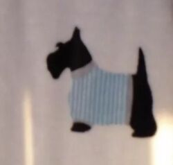 SCOTTISH TERRIER - Scottie Dog - BOSTON- Very Soft Throw Blanket Nice Colors