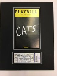 Picture Framing Mat For Playbill And Theater Ticket Black With Black Liner Set 5