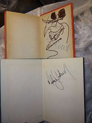 Michael Jackson Signed Jehovahand039s Witness Books Auction Provenance One W/ Drawing
