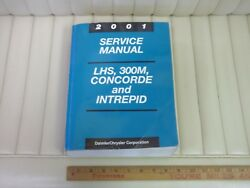 2001 Chrysler LHS 300M Concorde Intrepid Car Shop Service Repair Manual ORIGINAL