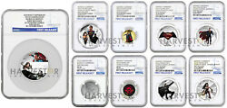 2016 Batman V Superman Dawn Of Justice - Ngc Pf69 First Releases Complete Set
