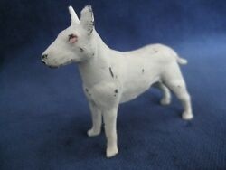 Old Lead Toy Figure English Bull Terrier