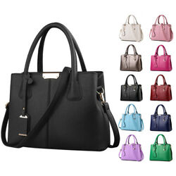 Fashion Womens Ladies Designer Leather Handbag Tote Shoulder Bag New