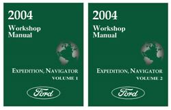 2004 Ford Expedition Lincoln Navigator Shop Service Repair Manual Book Engine