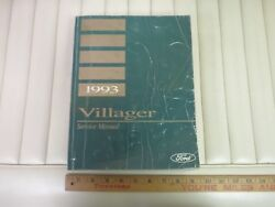 1993 Ford Villager Van Service Shop Repair Chassis Factory Manual Book