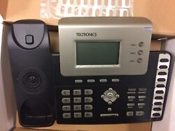 Teltronics Model 2602 Ip Vision I-phoneand039s Brand New W/stand And Cords Large Lcd