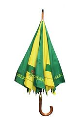 Saskatchewan Canada Prov. Flag - Umbrella Auto..34 Inch Height ..viva Souvenirs