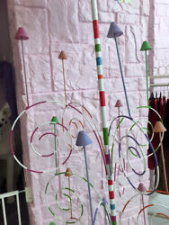 Glitterville Fancy Retail Store Glitter Party Hat Tall Floor Stand Display Rack