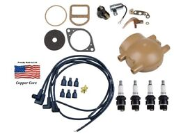 Complete Tune Up Kit Ford 8n 9n 2n Tractor With Front Mount Distributor