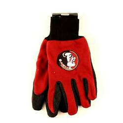 Florida State Seminoles Red And Black Team Gloves