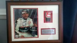 Limited Edition Dale Earnhardt Sr Autographed Photo With Actual Car Part And Coa