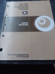 John Deere Parts Catalog 3009, 3011, 3014, 4019 Oem Engine And Accessories