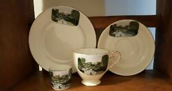 Royal Grafton Breakfast China Set,cup,saucer,plate And Egg Cup Vintage 4 Piece