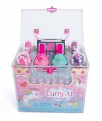 Girls Cosmetic Set 20 Piece Unicorn Non Toxic Makeup Set w Carrying Case $24.99