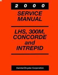 2000 300M Concorde Lhs Intrepid Shop Service Repair Manual Engine Electrical
