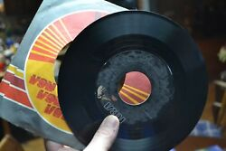 I WANNA HEAR IT FROM YOU ROOM TO RUN EDDIE RAVEN 1985 45 RPM 7 INCH RCA