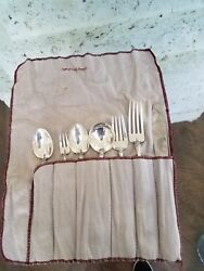 King Richard Towle Dinner Sterling Silver Flatware Set For 8 Service 56 Pieces
