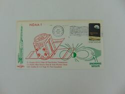 Noaa-1 First Day Cover Cancelled 12/11/1970 Jg Autographs Coa