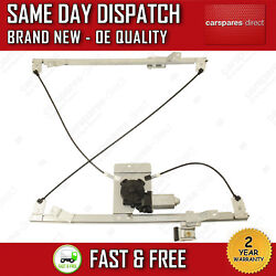 FOR CITROEN JUMPY/ DISPATCH 07>ON FRONT LEFT SIDE WINDOW REGULATOR & 2 PIN MOTOR
