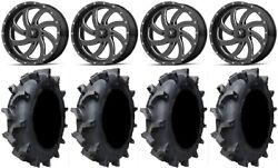 Msa Mil Switch 18 Atv Wheels 33 Interforce 628 Tires Can-am Renegade Outlander