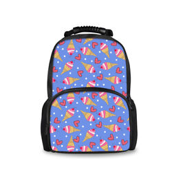 Backpacks for Girls in Middle School Bag Travel Satchel Back to School Ice Cream