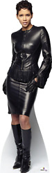 Halle Berry In Black Leather - Bond Girl - Cardboard Cutout