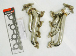 Obx Stainless Steel Shorty Header For Lexus 1997-2000 Gs400 4.0l