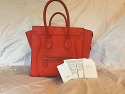 Authentic Celine Mini Luggage With Tags