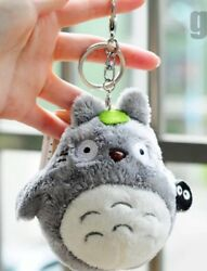 Totoro Plush Gray Stuffed Animal Toy Anime 4quot; Keychain US Seller $9.99
