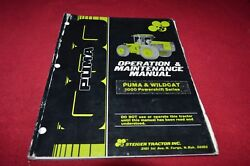 Stieger And Wildcat Powershift Tractor Operator's Manual Yabe15