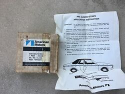 Nos 1972 Hornet Stickers And Black Stripes American Motors 8992874 Group 15-120