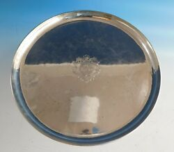 Kalo Sterling Silver Serving Tray Round G12p 12 2179