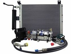 64 65 MUSTANG w289 or 302 A C COMPRESSOR UPGRADE YORK TO SANDEN R12 TO R134a