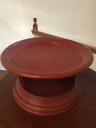 Antique Burmese Food Container A Unique And Rare Piece Bought In Burma 25 Yrs Ag