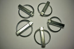 New Set Of 5 Lynch Pins For Tractors And 3 Point Hitch Attachments