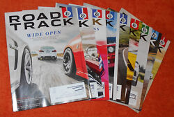 Road And Track Magazine Mar Apr May June July August Sep Oct Nov Dec 2016 Jan 2017