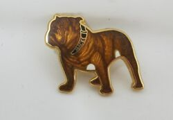 Vintage MACK TRUCKS INC. MACK BULLDOG PIN Large