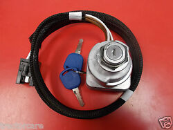 Ford New Holland Tractor Ignition Key Switch Ts Tm Series 81864288 87561528