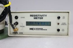 Monroe Electronics 272a Surface Resistivity Meter And 96101a-1 Test Electrode