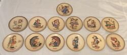 M.j. Hummel Annual Plates 1972 And 1974-1985