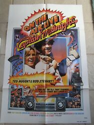 Vtg Movie Poster 1 Sh On The Air Live With Captain Midnight 1979 Tracy Sebastian