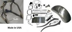 250 240 Wide Tire Swingarm Kit Usa Made Fits 91-06 Harley Softtail With 5 Speed