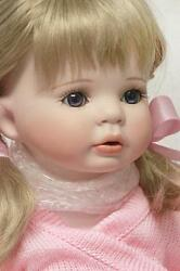 Pippa - Porcelain Doll By Celia Dolls Limited Edition