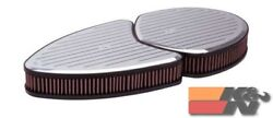 Kandn Unique Air Filter Assembly For Dual Quad Air Filter Assembly 66-5080