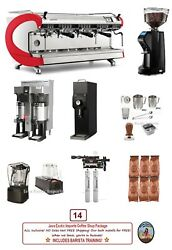 Simonelli Digit 3 Group Commercial Espresso Coffee Package Install + Training!