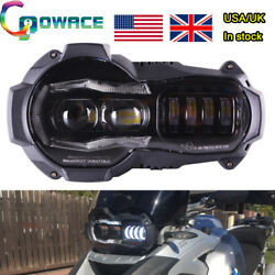 【USA】LED Headlight Replacement Fit for BMW oil cooler R1200GSAdventure 2004-12