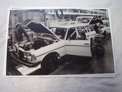 1979 Mercedes Wagon On Assembly Line 11 X 17 Photo Picture