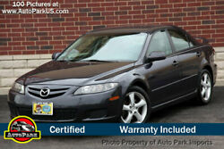 2007 Mazda Mazda6 s 2007 Mazda Mazda6 s Sport 3.0L V6 CD Changer Alloy Wheels 4 New Tires Low Miles
