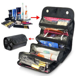 Multifunction Travel Cosmetic Bag Makeup Case Pouch Toiletry Organizer For Women $6.99