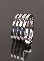 New Tom Ford For White Gold Wrap Ring Size 6